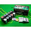 Набор для покера в металлической коробке 200 шт, фото 3