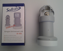 Конвертор Satcom Single Universal LNB S-105