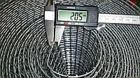 Сетка сварная оцинкованная для клеток 12.5х25мм (Ø пров 2мм) рулон 15 м