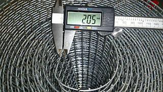 Сетка для клеток 50х25мм (Ø пров 2мм)