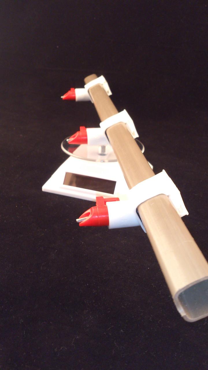Ниппельная поилка 360 на квадратную трубу для уток и гусей