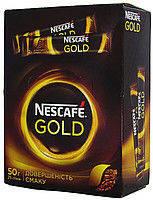 Кофе растворимый Нескафе Голд стик 2г * 25шт Nescafe Gold Высшее качество