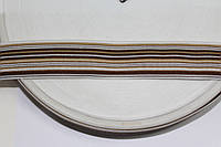 Т/О флаг 35мм (100м) белый+бежевый+коричневый , фото 1