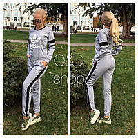 Костюм спортивный Adidas женский свитшот и брюки 3 цвета Sc04