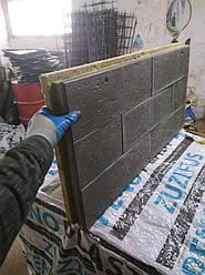 Энергосберегающие фасадные плиты (термопанели) минеральная вата
