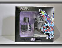 Набір подарунковий чоловічий Playboy New York (туалетна вода 50мл.+труси)