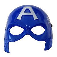 Маска пластик Капитан Америка