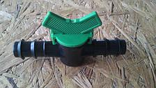 Кран подачі для напувалок ніпельного 14 мм