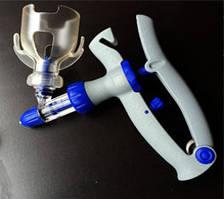 Ветеринарний Шприц автоматичний (високоміцний пластик)
