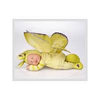 Кукла Анны Геддес (Anne Geddes) Лимонная бабочка 23 см