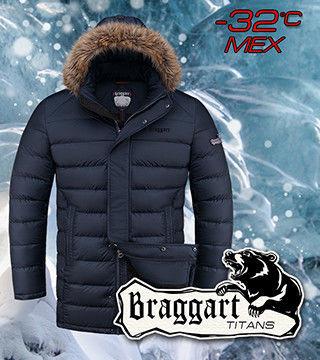 Куртка большого размера мужская Braggart
