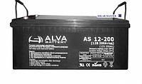 Аккумулятор гелевый 12В 200Ач AS12-200 Solar GEL ALVA