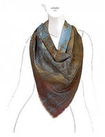 Платок женский 140 на 140 см в 6ти цветах VR43-8018 Eleganzza
