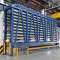 Автоматизированные склады для хранения профильного металлопроката