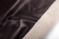 Дубленка Мерино КР с покрытием темно-коричневый