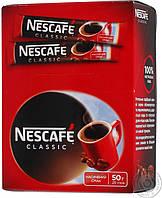 Кофе растворимый Нескафе стик 2г * 25шт Клаcсик Nescafe Classic Высшее качество