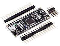 Arduino NANO V3.0 ATmega328 AVR P-20AU micro USB, фото 1
