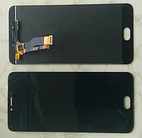 Дисплей модуль Meizu M3 Note M681H в зборі з тачскріном, чорний