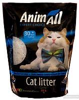 """Наповнювач туалетів для кішок """"AnimAll"""" силікагель"""