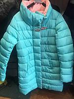 Удлиненная куртка с брошью тренд 2016-2017 сезона 3 цвета