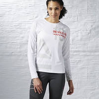 Спортивная футболка с длинным рукавом Reebok ONE Series Running ACTIVCHILL S94256
