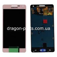 Дисплей Samsung A500 Galaxy A5 с сенсором Розовый Pink оригинал , GH97-16679E