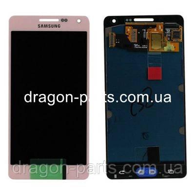Дисплей Samsung A500 Galaxy A5 с сенсором Розовый Pink оригинал , GH97-16679E, фото 2