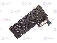 Оригинальная клавиатура для ноутбука Asus Taichi 21 series, rus, black, без рамки, подсветка