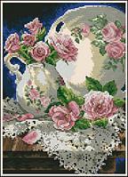 """Набор для вышивания 06929 """"Розы и кружева"""""""