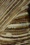 Плетеный ковер из полосок шкуры бежевого цвета , фото 3