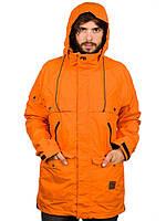 Мужская горнолыжная, сноубордическая куртка Analog Anthem, размер S, M, Safety Orange, фото 1