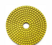 Круг полировальный 100x3x15 №120 Baumesser Standard (зерно №120), гибкий полировальник для гранита и мрамора