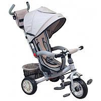 Детский трехколесный велосипед Alexis-Babymix ET-B37-5 Grey