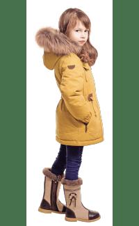 Дитячий зимовий одяг для дівчаток оптом в магазині Сенсорик