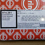 Прокладка ГБЦ 1.3 - 1.6 cvh elring, фото 2