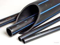 Труба ПЭ усиленная для водоснабжения ф 32x2.4 мм PN 10 (Цена за бухту 200м)