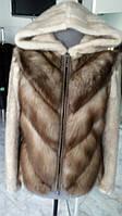 Куртка-трансформер из меха норки и куницы