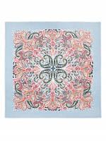 Красивый платок женский 110 на 110 см в 4х цветах S42-0772 Eleganzza
