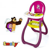 Игрушечный стульчик для кормления Маша и Медведь Smoby 240201