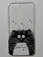 Чехол с котиками на iPhone 6