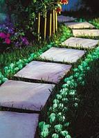 Светонакопительная галька для декора интерьера, сада.