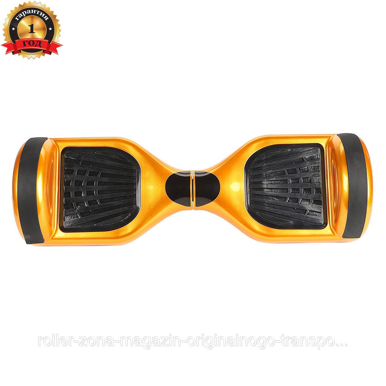 """Гироборд Candy wheels 6.5"""" Gold"""