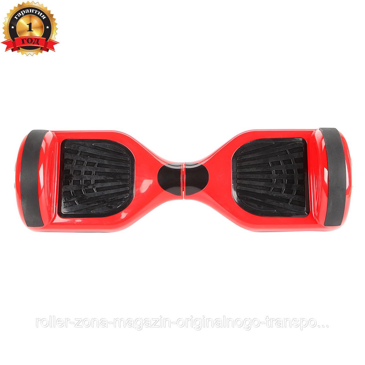 """Гироборд Candy wheels 6.5"""" Red"""
