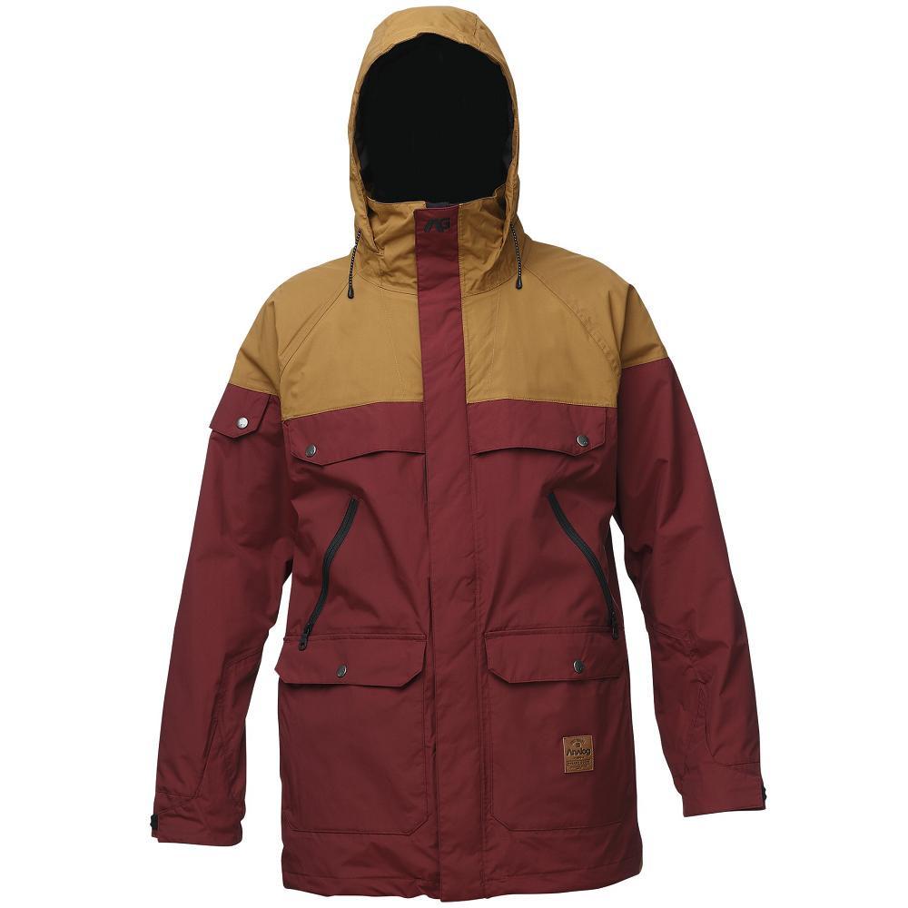 Мужская горнолыжная куртка Analog Anthem, размер S, Burgundy leather Brown  - Sport Active 74ee4db1a98