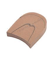 Каблук деревянный без набойки, 7*8