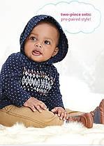 Костюм на мальчика 24 мес: худи-пуловер флис, штаны Carter's