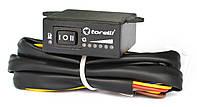 Переключатель газ-бензин (кнопка) инжекторный с указателем уровня топлива Torelli , фото 1