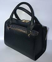 Каркасная женская сумка из экокожи