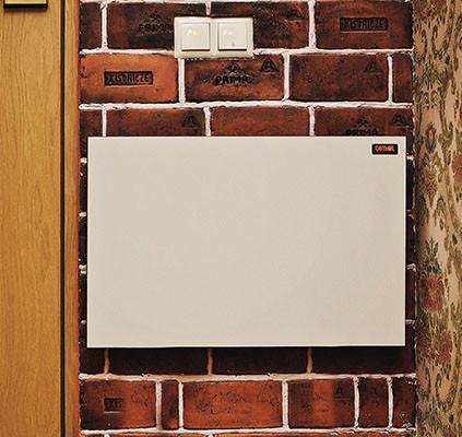 Обогреватель керамический Dimol mini 01 + термостат (цвет белый)