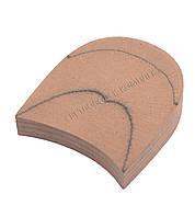 Каблук деревянный без набойки, №44-45/24, фото 1